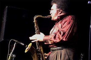 Johnny Pennino Playing the Sax